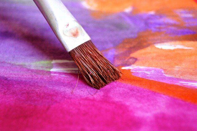 Paint Brush Close up